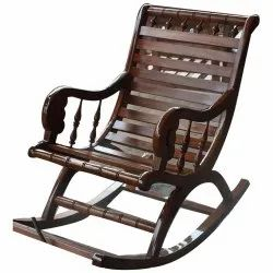 Wooden Swing Chair, 1 Seater