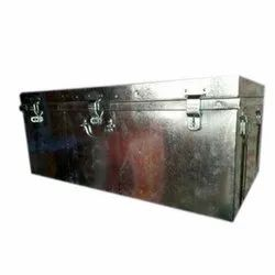 56 Cm Stainless Steel Trunk Boxes