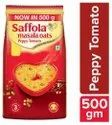 Saffola Peppy Tomato Masala Oats, Packaging Size: 500g