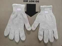 Cotton Seamless Knitted Gloves 50 gram