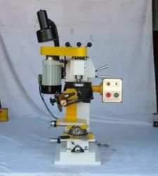 220-250 Vac 50 Hz Electric SINGLE VERTICAL HEAD MACHINE, For Cutting and finishing, Model Name/Number: Sp