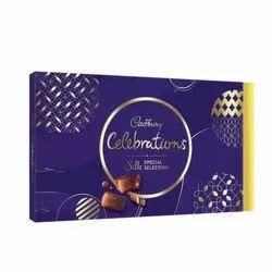 Brown Rectangular Cadbury Celebrations Silk Special Selection Gift Pack- 233g