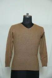B-133 Woolen V Neck Pullover