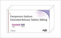 Faropenem Sodium Extended Realease Tablets 300mg