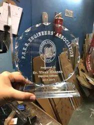 Acrylic Momento Trophy