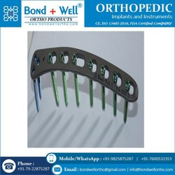 Orthopedic Distal Humeral Locking Plate
