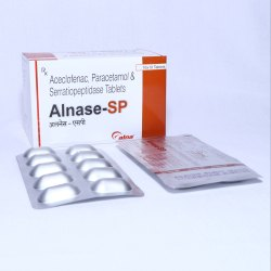 Aceclofenac 100 Mg  Paracetamol 325 Mg Serratiopeptidase 15 Mg