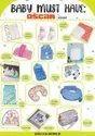 Hanging Nursery Diaper Storage Organizer Portable & Fold-able Diaper Stacker