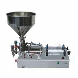 Double Nozzle Liquid Filling Machine