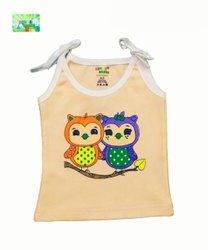 KINDER CHOICE COTTON NEW SIMPLE SLEEVELESS VEST FOR KIDS