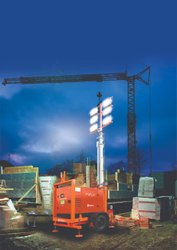 Diesel Mahindra Mobile Lighting Tower