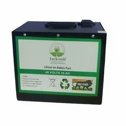 48V 25Ah Electric Bike Lithium Ion Battery Pack