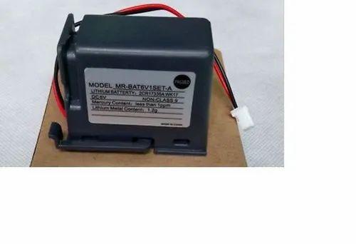 Mitsubishi Lithium Battery - MR-BAT6V1SET-A
