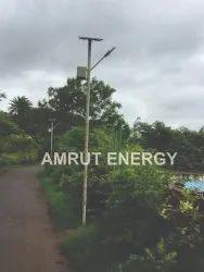 AMRUT Aluminium Pdc Solar LED Street Light 12W, For Outdoor, 12 Watt