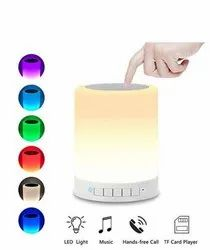 White Customizable Printable Colour Changing Bluetooth Speakers