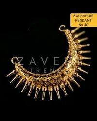 40 Kolhapuri Fashion Pendant