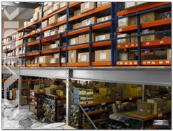Mezzanine Storage Rack