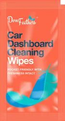 Don Feathers Non Woven Car Dashboard Cleaning Wipes