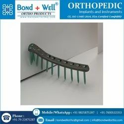 Orthopedic Lateral Tibial Locking Plate