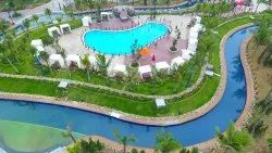 White FRP Superflow River - Pool Mechanism, For Parks and resorts