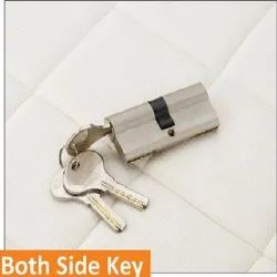 Both Side Key Brass Mortise Handle