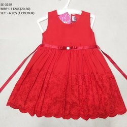 SLEEVES LESS LONG FROCK   FOR  BABY GIRLS