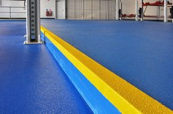 Commercial Building Anti Skid Epoxy Flooring Service
