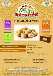 Macadamia Nut, Packaging Type: Packet