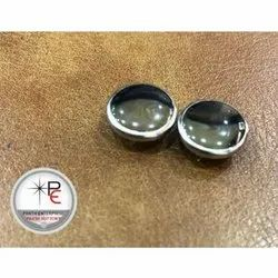 Golden Fancy Metal Round Button, Packaging Type: Packet