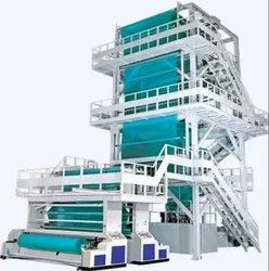 Multilayer Blown Film LLDPE Film Making Machine Blowing Extrusion Line