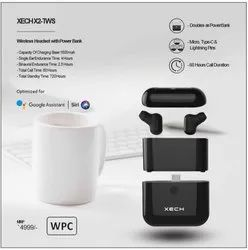 IPx5 Waterproof True Wireless Stereo Sports Earpod With Bluetooth Mic, Voice Assistant And 1600mah