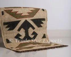 KIlim Rugs Wool Jute Handmade Indian Rug Hand Woven 2x3 Rug Carrpet Kilim Rug Carpet