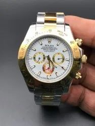 Automatic Silver,Golden Rolex Silver And Gold Watch For Man