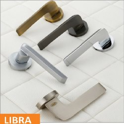 Libra Brass Mortise Handle