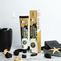 Oxi9 Essentials 9 In 1 Organic Charcoal Toothpaste