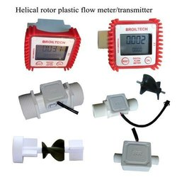 Digital Helical Type Flow Meter(SS/PVC)