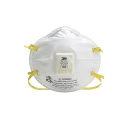 Disposable 3M 8210V N95 Particulate Respirator Mask, Certification: Niosh
