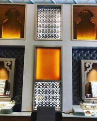 Steel Copper Jali For Showroom