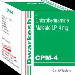 Chlorpheniramine Maleate IP 4 mg