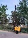 Mobile welding genset & light tower