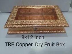 8x12 Inch TRP Copper Dry Fruit Box