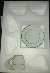 Thermocol customized Ceramic Tea Set Packaging Box