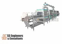 Conveyorised Parts Washer Machine