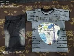 New T- Shirt & Pant Set For Kids