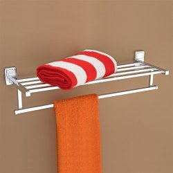 Wall Mounting Chrome Plantex Cl Stainless Steel 304 Dr Towel Rack (24 Inch)
