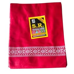 Red Border Printed Cotton Gamcha