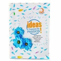 Deepraj Perfect Bound A4 Single Line Notebook For School