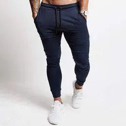 Blended Fabric Joggers Mens Regular Jogger Pants
