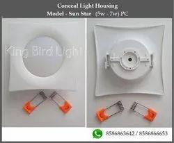 Conceal Light Housing - Model - Sun Star, 7 W