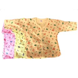 Unisex Full Sleeves Newborn Baby Cotton T Shirt